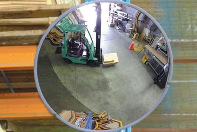 Convex mirror - 300mm indoor (wall & post mount bracket supplied)