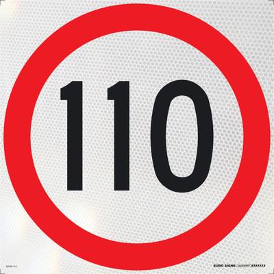 110- 600x600 Corflute HI-INT BLK/RED/WHT