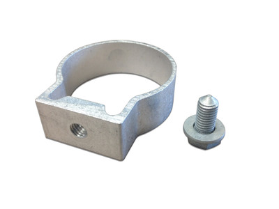 Single Sided Post Bracket - FIT 60mm OD (inc x1 M10 bolt & washer)