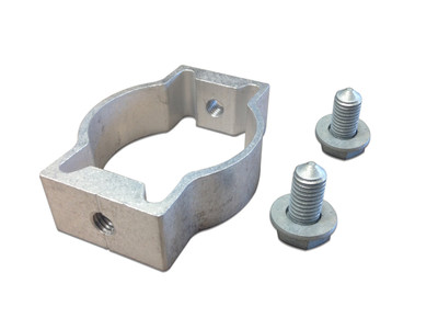 Double Sided Post Bracket - FIT 60mm OD (inc x2 M10 bolts & washers)