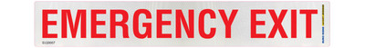 EMERGENCY EXIT 260x40 DECAL CLASS 2