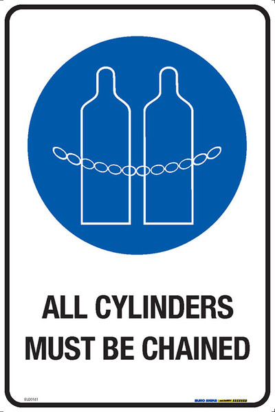 ALL CYLINDERS MUST BE CHAINED 300x450 MTL