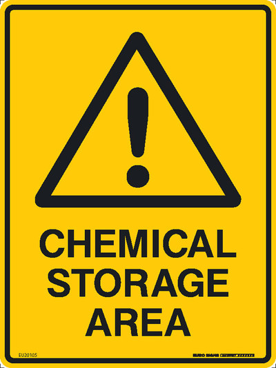 CHEMICAL STORAGE AREA 225x300 POLY