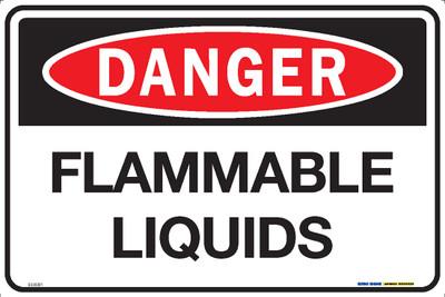 DANGER FLAMMABLE LIQUIDS 450x300 MTL