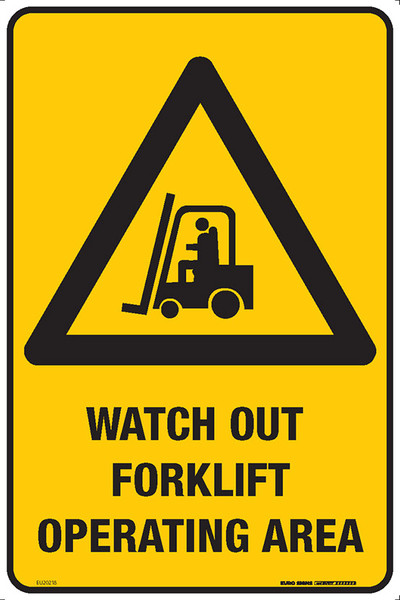 WATCH OUT FORKLIFT OPERATING AREA 300x450 MTL