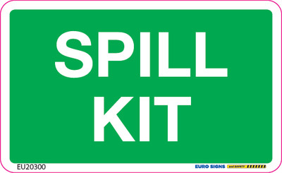SPILL KIT 90x55 DECAL
