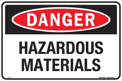 DANGER HAZARDOUS MATERIALS 450x300 MTL