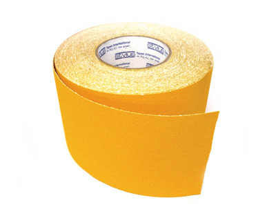 100mm Anti-Slip Tape 18 metres YELLOW