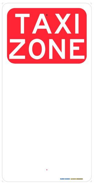 TAXI ZONE - 225x450 ALUM