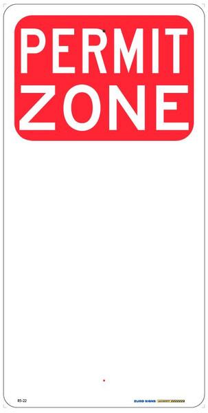 PERMIT ZONE - 225x450 ALUM