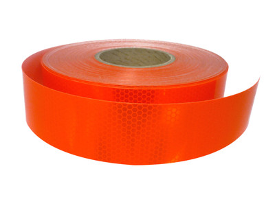 50mm Class 1 Tape FLUORO ORANGE 50 metre ROLL