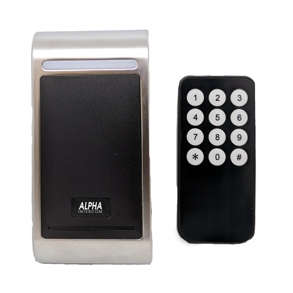 Access control reader with controller