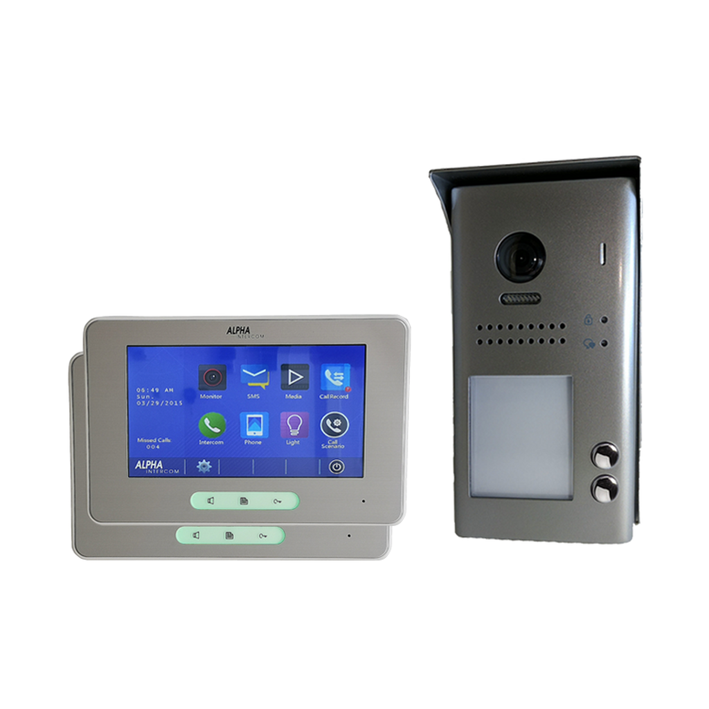 Kit 2 bts iSimple Video Touchscreen