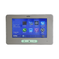 Kit iSimple video intercom 4 pushbuttons Touchscreen