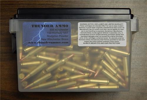 308 WIN Thunder Ammo Hornady SST 150 gr 250 Rounds