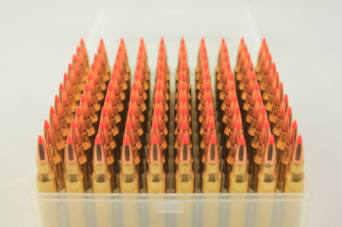 223 55gr V-Max Crimped New Remington Brass 100 Rounds