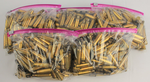 New .308 Unfired Demilled Lake City Primed Brass 1000 Count