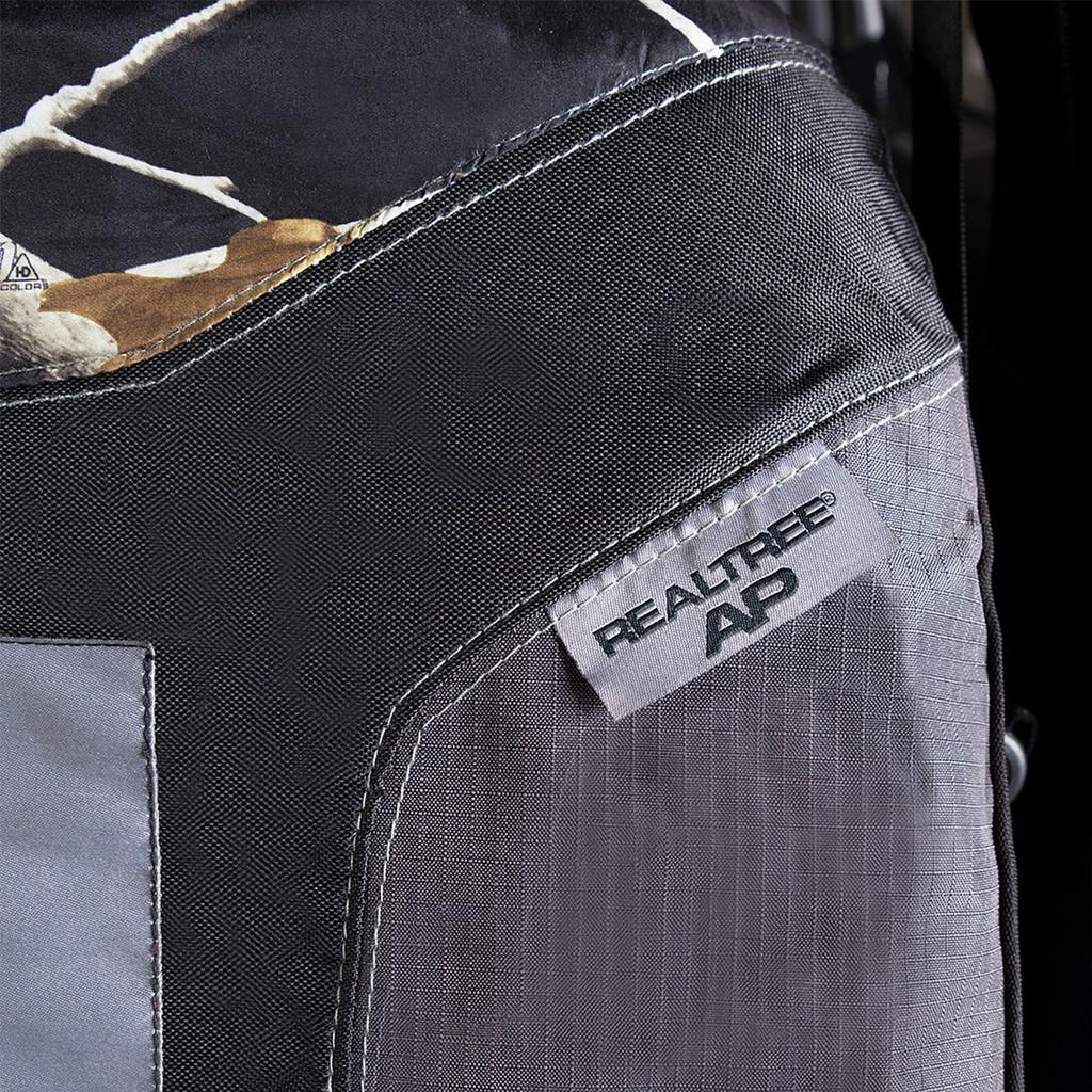 Realtree Black Camo Low Back Bucket Seat Cover Color