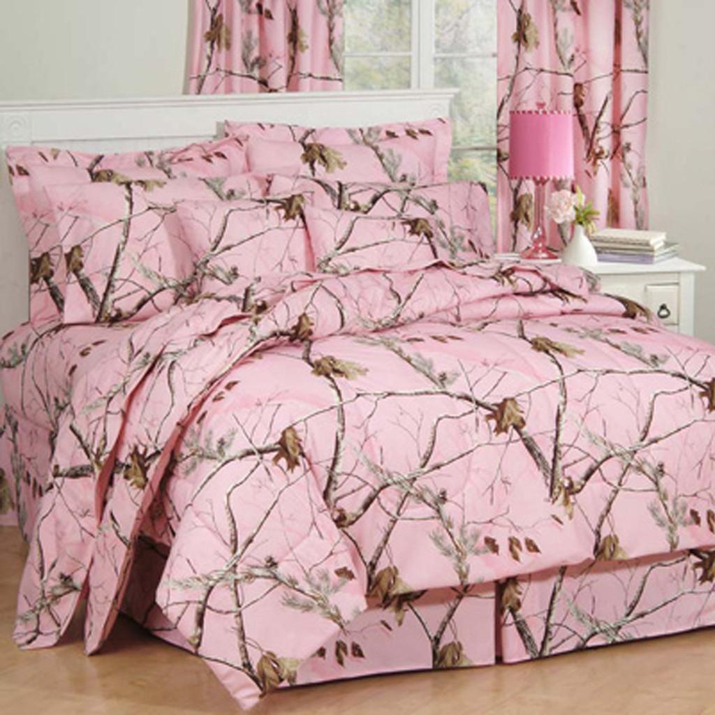 Realtree AP Pink Comforter Sets Image