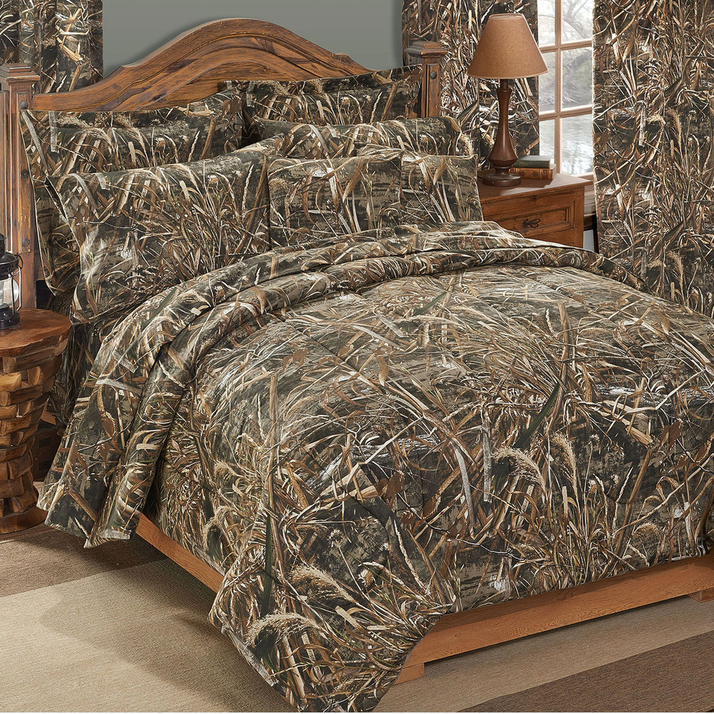 Beau Realtree Max 5 Camo Comforter Sets Shown In Full