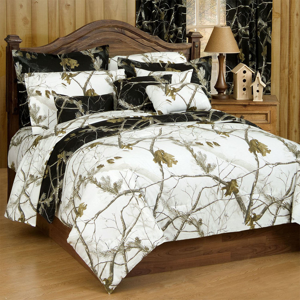 Realtree Ap Black Camo Twin Comforter Camo Bedding