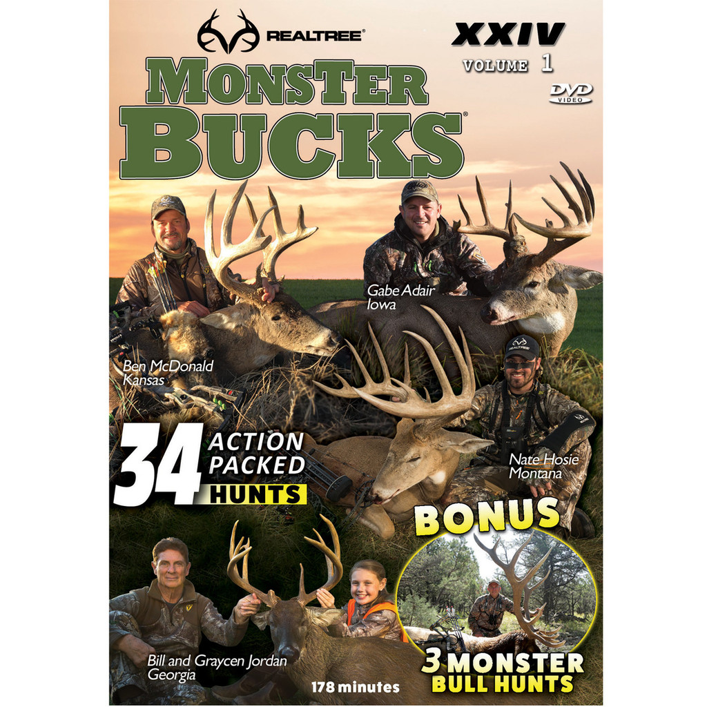 Digital Download Monster Bucks XXIV, Volume 1
