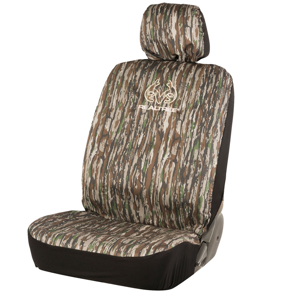 Realtree Original Camo Low Back Bucket Seat Cover Camo