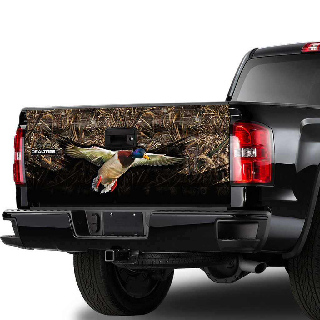 Realtree Max 5 Duck Tailgate Film Camowraps Truck Wrap