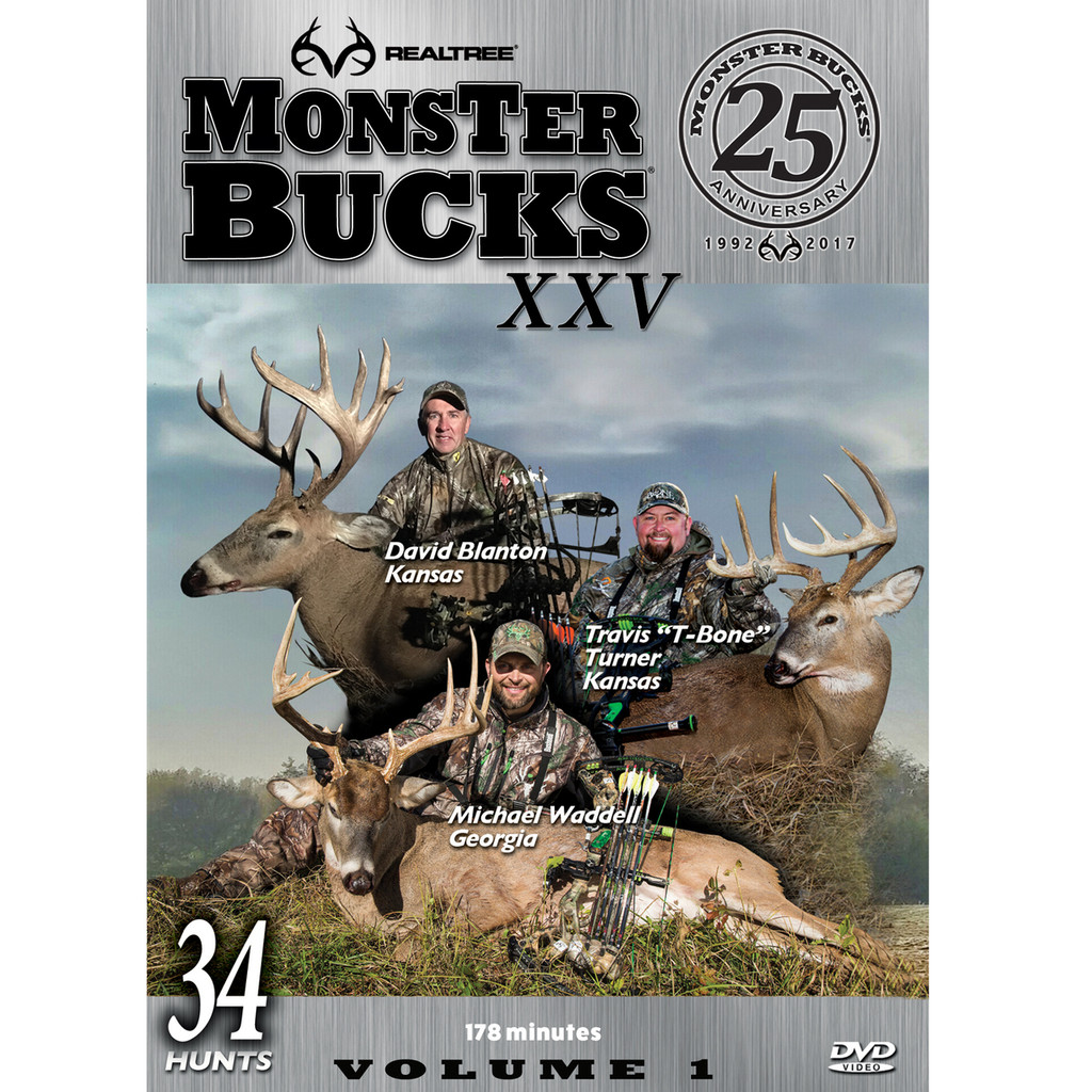Monster Bucks XXV Volume 1 (2017 Release)