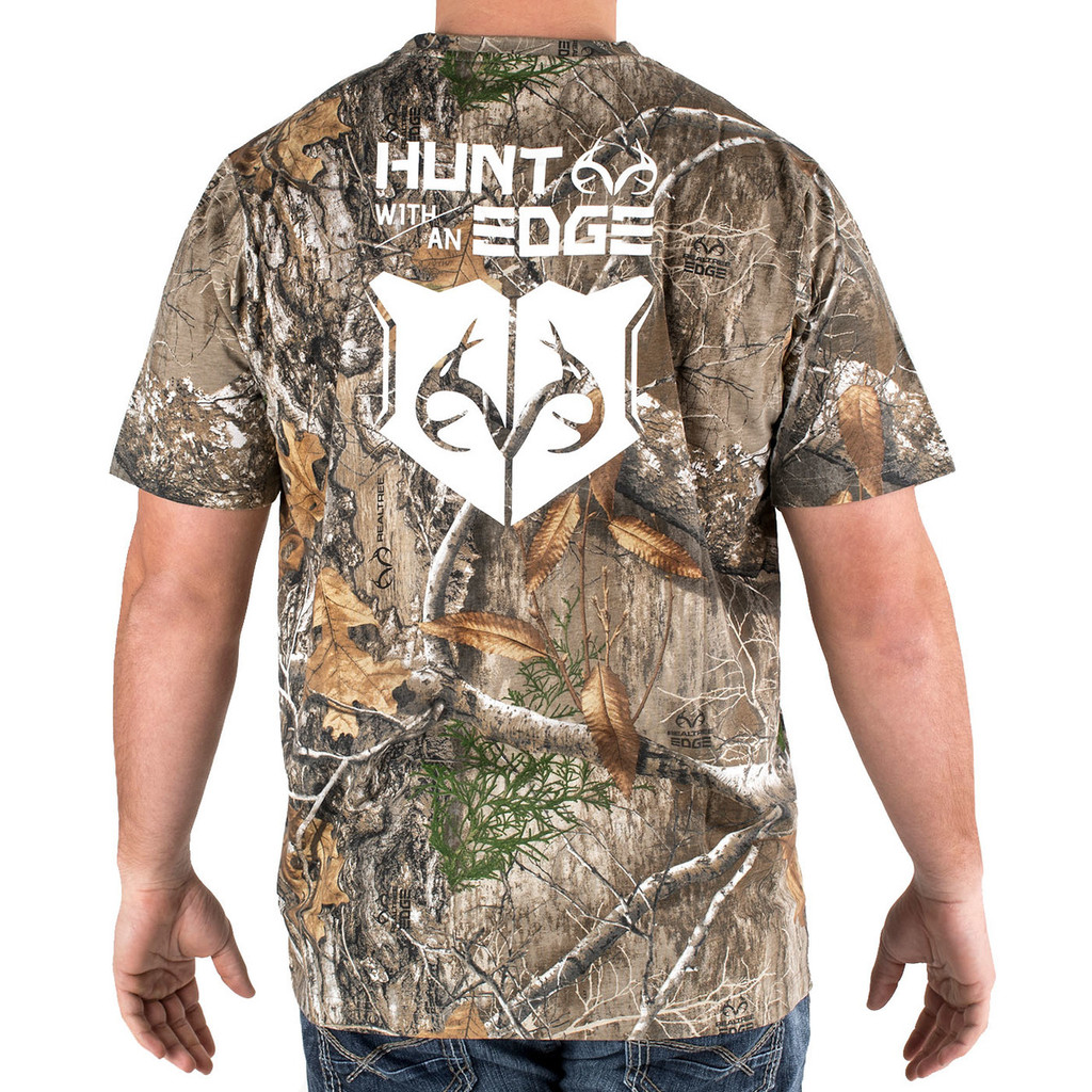 Men's Realtree Edge Camo t-shirt Back