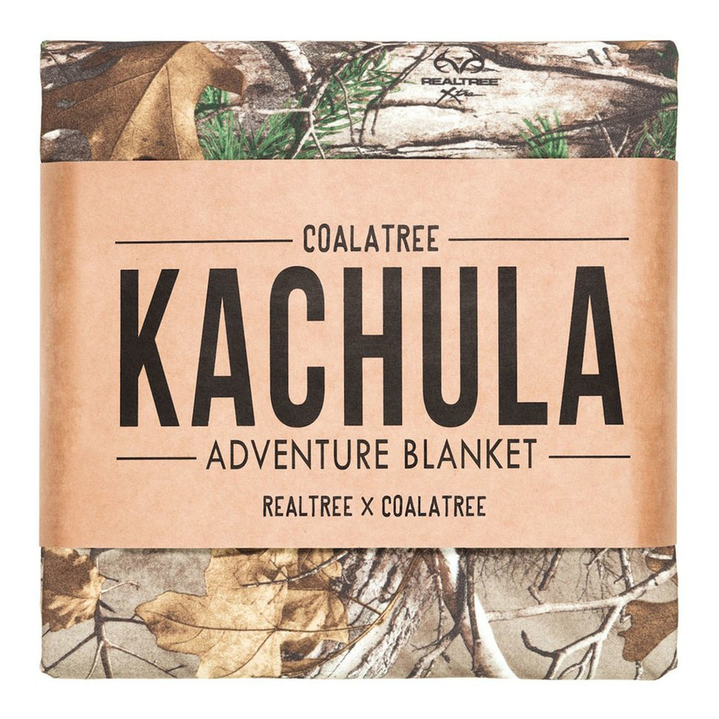 Realtree Xtra Kachula Adventure Blanket in Package