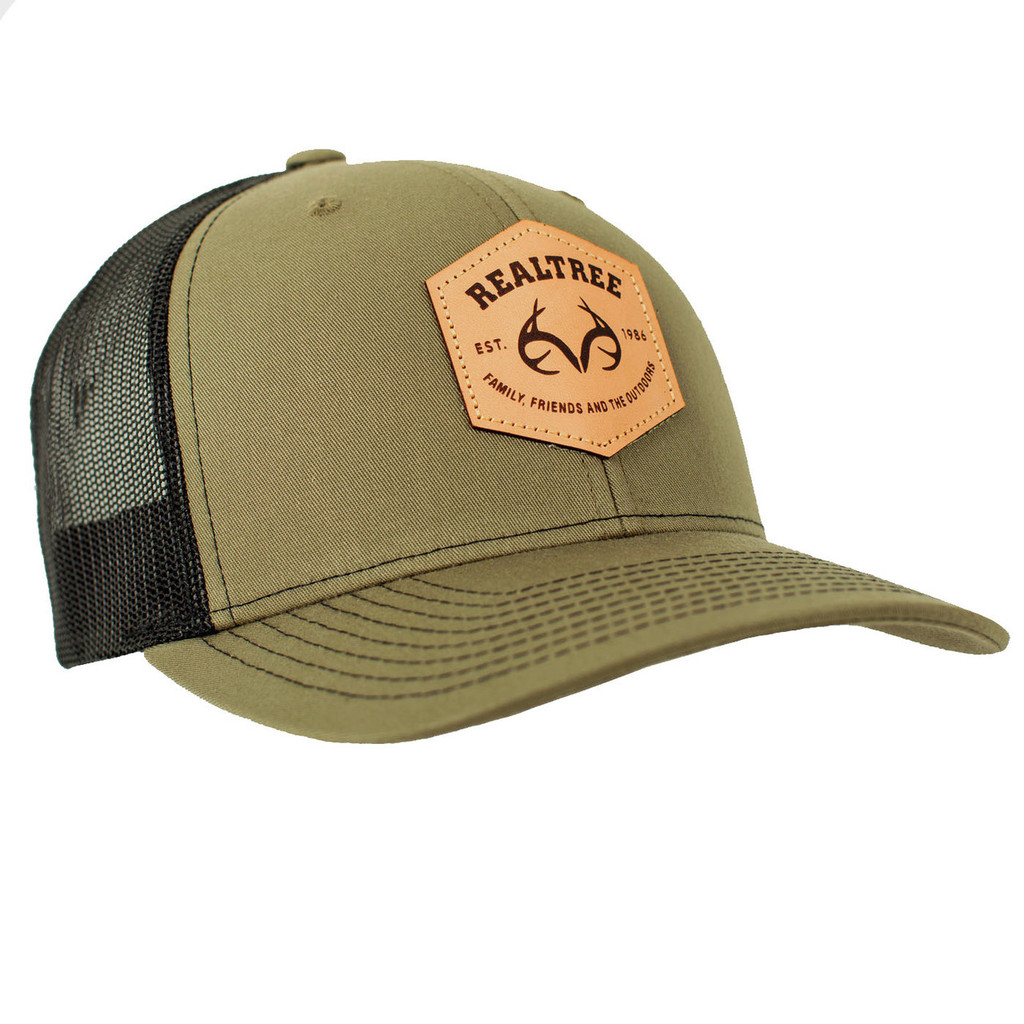 Realtree Patch Richardson Hat Front