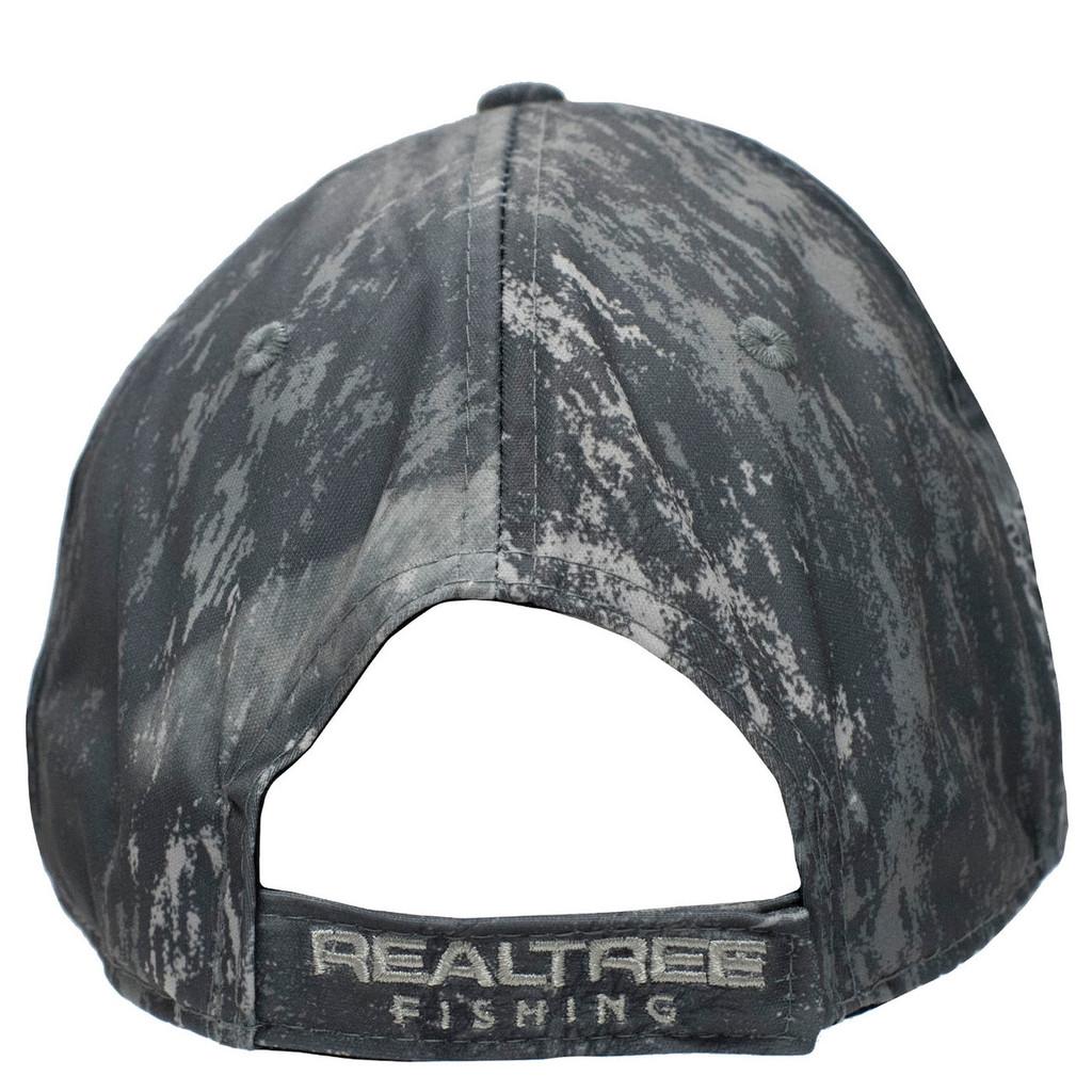 Realtree Fishing Black Performance Hat Back