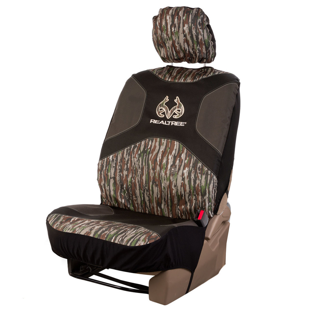 Realtree Original Low Back Bucket Seat Cover