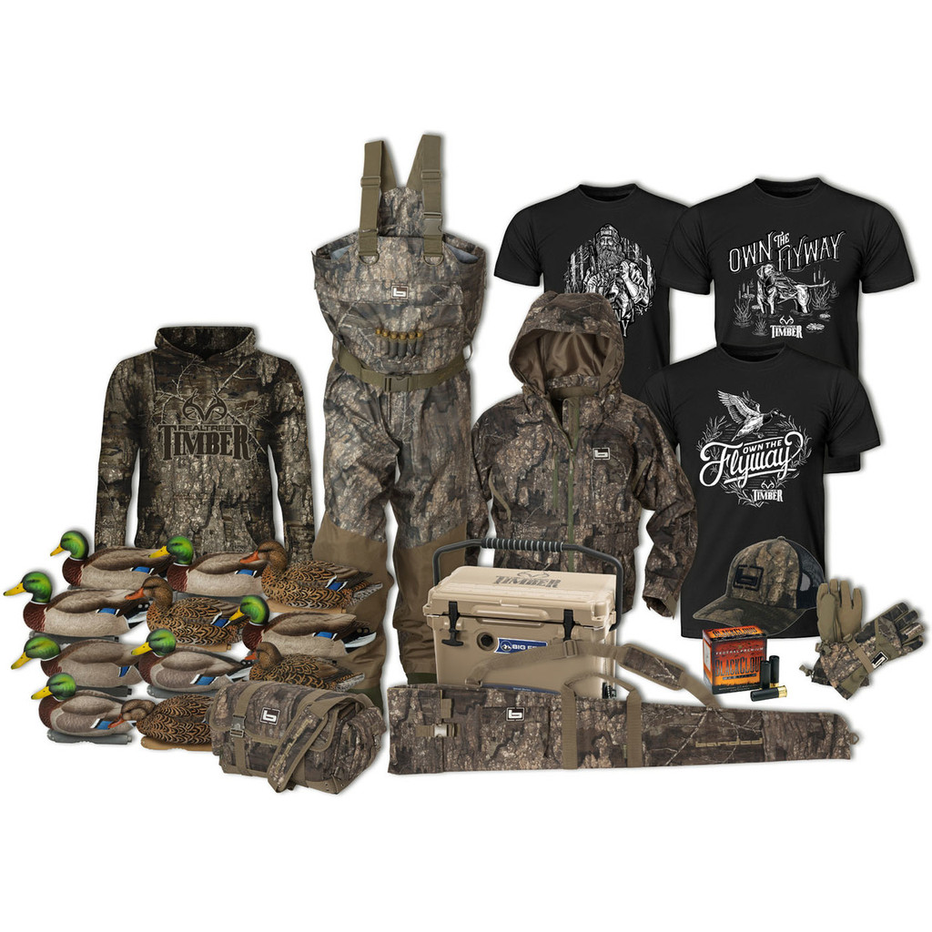 Realtree + Delta Waterfowl Raffle ticket Prize