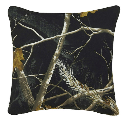 Realtree AP Black/Snow Reversible Pillow
