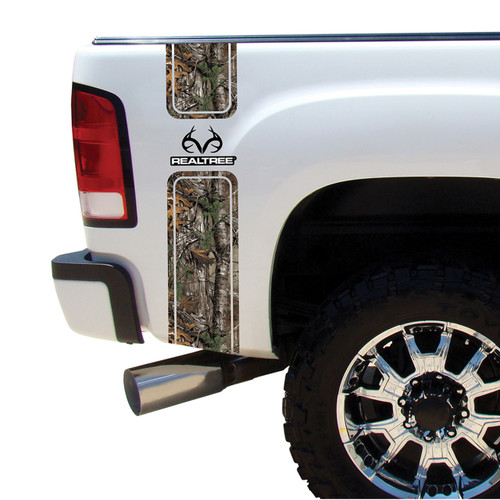 Realtree Camo Truck Bed Bands Realtree Auto Graphics