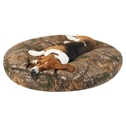 "Realtree Round Dog Beds 27"" in Xtra"