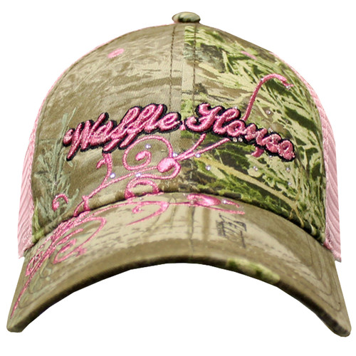 Ladies Waffle House Scroll Cap