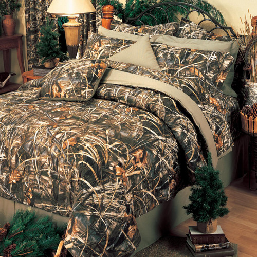 Realtree Max-4 Camo Comforter Sets Full Set in Image