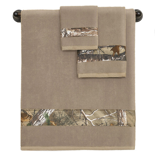 Realtree Camo 3-Piece Towel Sets