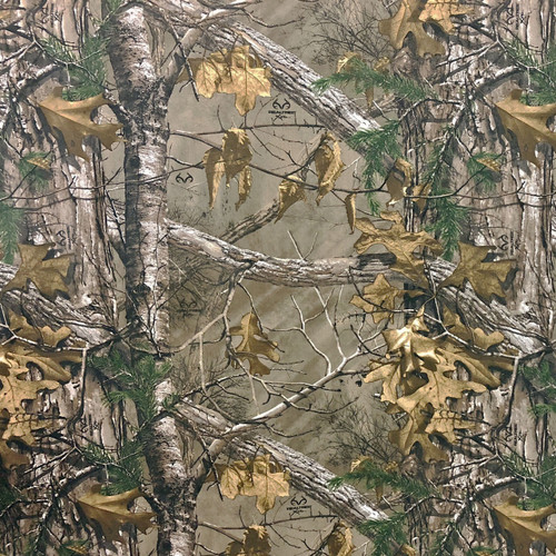 Realtree Camo Xtra Poly Tricot Microfiber Brushed Fabric