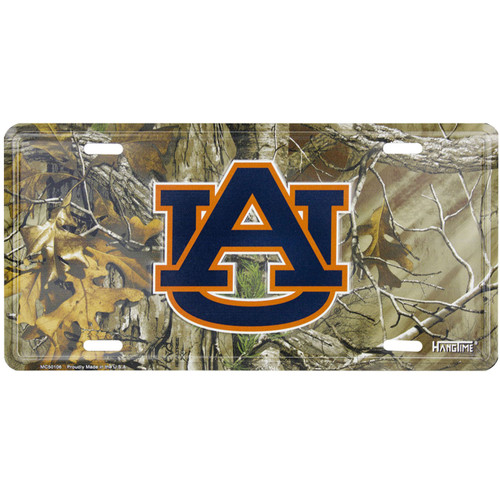 Realtree Xtra Collegiate License Plates