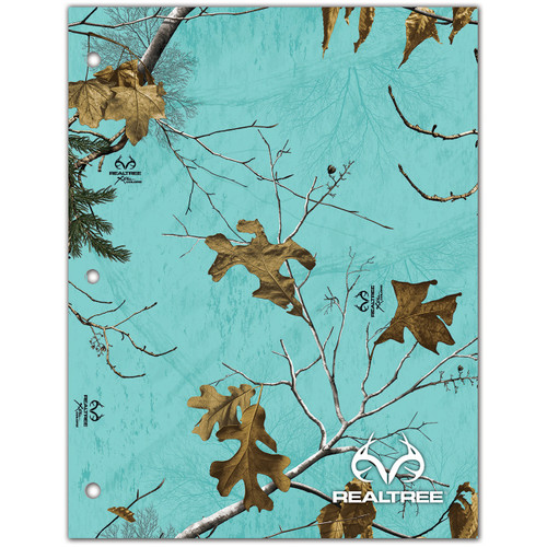 Realtree 2-Pocket Xtra Seaglass Camo Folder