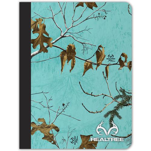 Realtree Composition Xtra Seaglass Camo Notebook