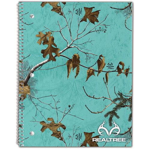 Realtree Spiral Xtra Seaglass Camo Notebook