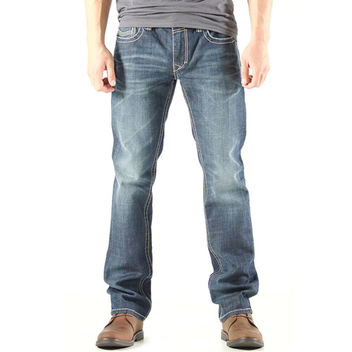 Realtree Men's Straight Legged Denim Jeans