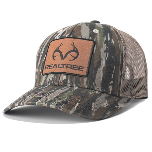 Realtree Original Camo Suede Patch Hat