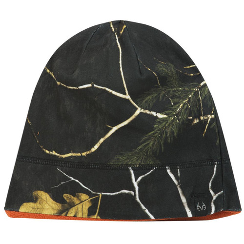 Realtree Reversible Xtra Black Beanie