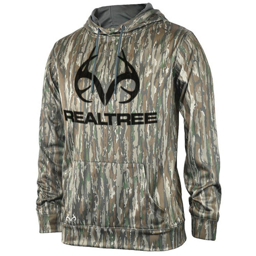 Realtree Men's Original Camo Antler Performance Hoodie